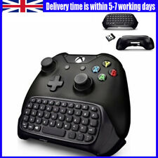 2.4GHz Wireless Keyboard For Xbox One Accessory Controller Chatpad Keypad UK