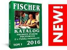 NEW!! POLAND CATALOGUE - NEW STAMPS KATALOG - FISCHER 2016!!