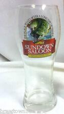 Sundown Saloon est 1936 beer glass fishing glasses 1 restaurant glassware CB7