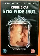 Eyes Wide Shut 2xDVD Region 2 Tom Cruise Nicole Kidman Pollack Field Kubrick