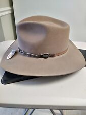 Stetson American Buffalo Collection Stone Drifter Size 6 7/8, 55cm