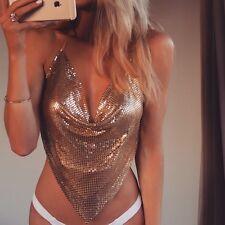 Luxury Women's Sequin Swimwear Bra Bathing Suit Bikini Tops Swimsuit Beachwear A