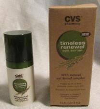CVS timeless renewal eye serum with natural oat kernel complex 0.5 fl oz New