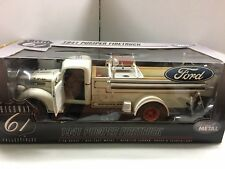 1:16 HIGHWAY 61 FORD WHITE 1941 PUMPER FIRE TRUCK VERY RARE