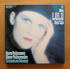 D48D 3 Berg Lulu Anja Silja Dohnanyi Vienna Philharmonic 3xLP Decca EXCELLENT