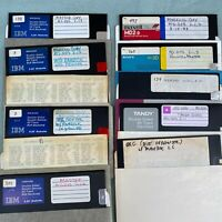 MS DOS 2.1.2 2.1.3 Install 5.25 Floppy Disk Lot PC Software Microsoft Tandy 2000