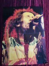 BOB MARLEY - MAGAZINE CLIPPING- ( CENTRESPREAD - PICTURE ) PIN -UP