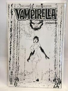 Vampirella (2017) #4 B&W Variant VF/NM 1st Print Dynamite Comics