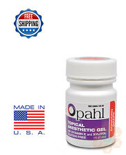 Opahl 20% Benzocaine Topical Anesthetic Gel GRAPE Tattoo Numbing Piercing - 1oz