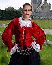Women's Mary Read Blouse, finest fabric, handmade one by one, very nice!!!