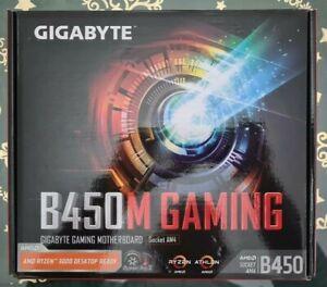 Gigabyte AMD B450M Gaming AM4 Micro ATX DDR4-SDRAM Motherboard