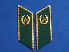 KGB soviet russian Border Guards collar tabs officer ARMY USSR UNIFORM insignia
