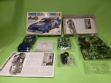 KIT (unbuilt) 7 TOYOTA CELICA LB TURBO Gr.5 - BLUE 1:24 - GOOD IN BOX