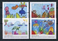 BIOT Brit Indian Ocean Ter 2018 MNH IYOR Int Yr of Reef 4v Set Marine Stamps