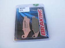 BRAKING PASTIGLIE FRENO ANTERIORI SINTER per HONDA-HM 125 CRE R SUPERMOTARD 2004
