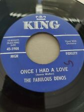 NORTHERN SOUL 45 RPM - THE FABULOUS DENOS on KING VG
