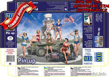 """Master Box 35183 Pin-Up Girl, WWII Era """"I Want You for US Army"""" kit 1/35 & 1/32"""