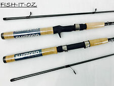 SHIMANO SOJOURN TWIN ROD COMBO SPINNING AND BAITCASTER 2 ROD COMBO RRP $299