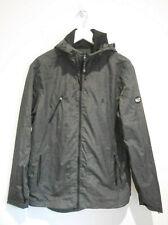 Penguin grey marl lightweight hooded rain jacket coat Small S VGC