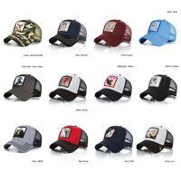 Fashion Unisex Animal Embroidery Pattern Baseball Caps Personality Hip Hop Hats