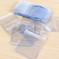 Clear PVC Plastic Coin Bag Case Wallets Storage Envelopes 100Pcs  HOT ZX
