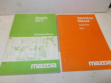 Mazda RX7 Workshop Manuals 1978-85