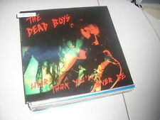 LP Punk Dead Boys - Liver Than You'll Ever Be (15 Song) PERFECT BEAT Stiv Bator