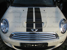"VIPER-STRISCE ADESIVI STRIPES F. BMW Mini Cooper ""s"" r56 One John Works Unione"