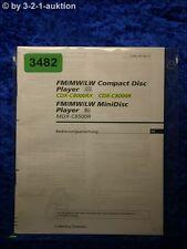 Sony Bedienungsanleitung CDX C8000RX /C8000R / MDX C8500R  (#3482)