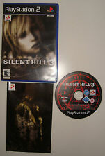 JEU SONY PLAYSTATION 2 PS2 PS3 SILENT HILL 3 COMPLET