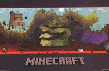 JINX MOJANG MINECRAFT WORLD COMPUTER VIDEO GAME POSTER 22x34 FREE SHIPPING