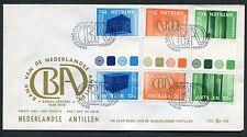Nederlandse Antillen BRUGPAREN / KEERDRUK FDC  E109_4a M, blanco;