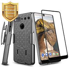 Essential Phone PH-1 Case Slim Armor Shockproof Kickstand + Belt Clip Holster