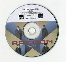 Racoon - cd-PROMO - TOOK A HIT © 2012 - EU-1-Track-CD - POP - ROCK