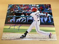 Nomar Mazara Chicago White Sox Texas Rangers Autographed Signed 8X10 Photo W/COA