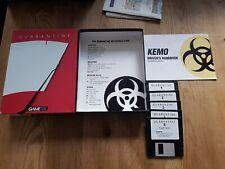 Vintage Floppy Disk Pc Game Quarantine