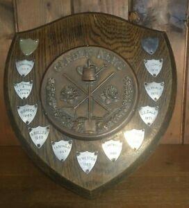 1962 Garden News medium vintage trophy plaque, trophies, gardening, trophy