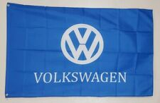 Volkswagen VW Banner 3x5 Ft Flag Logo Car Show Garage Wall Decor Gift Racing