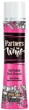 Partners In Wine Dark Tanning Lotion Bronzer 10.1 oz