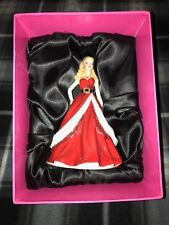 2011 Royal Doulton 3,500 Limited Holiday Barbie Sculpture W/ Numbered C.O.A