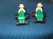 LEGO X 2 CITY TRACTOR COMPLETE 4899