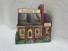Brandywine Woodcrafts Wooden Shelf Sitter: Blackberry Pie/Country Living House