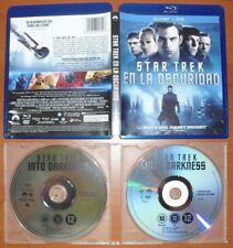 Star Trek En La Oscuridad (Into Darkness) [Blu-Ray Region Free / DVD Region 2]