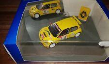 Universal Hobbies 1/43 Renault clio S1600