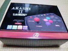 PS3 Arcade Stick Arashi 2 II USB Controller Playstation 3 Tested Work