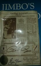 Cert. Auto. Pete Rose W Piece Of Jersey And Bat From His 4192 Hit ~RARE MUST OWN