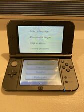 "Nintendo ""New 3DS XL"" Gray/Black Console, Dual Joysticks"