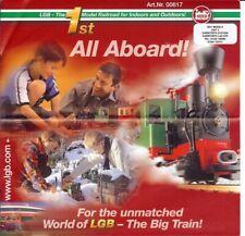 LGB Lehmann Gross Bahn All Aboard 2002 Art 0617 English German Catalogue promote