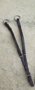 Running Martingale attachment - brown leather