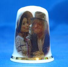 Birchcroft Thimble -- Comedy Stars -- Worzel Gummidge with Aunt Sally - Free Box